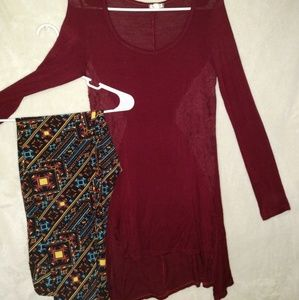 Lularoe Buttery soft Leggings tall and curvy